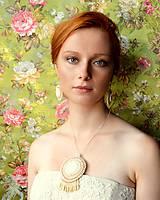 Sady šperkov - Blanched Almond...  vyšívaná sada - 5760266_