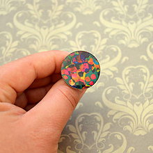 Prstene - Multicolour n.3 - prsten průměr 25 mm - 5757621_
