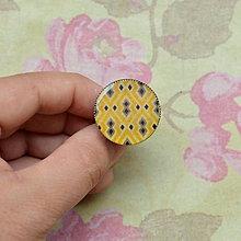 Prstene - Burundi - prsten průměr 25 mm - 5757626_
