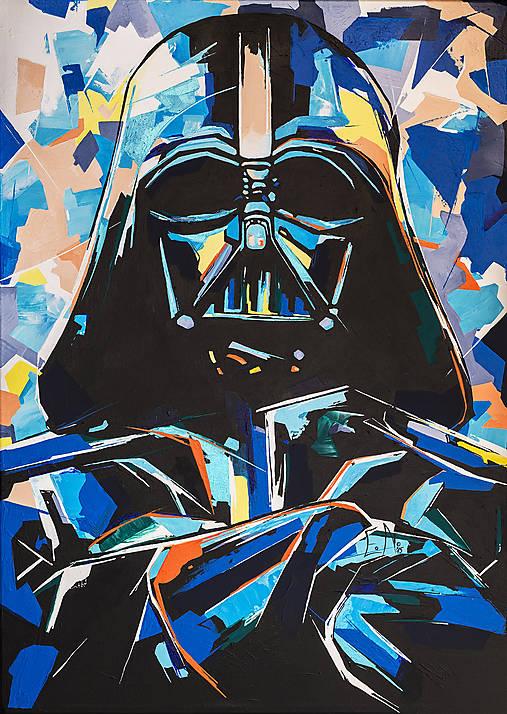 Darth Vader 3 print A3