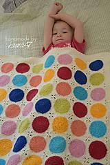 Textil - Háčkovaná deka ...