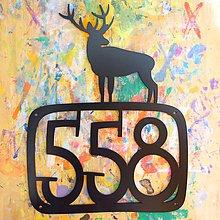 Tabuľky - Číslo na dom / jeleň - 5764526_