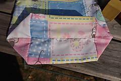 Úžitkový textil - ZĽAVA ! vrecúško pestrofarebné.. - 5764169_