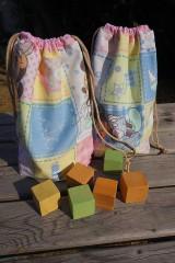 Úžitkový textil - ZĽAVA ! vrecúško pestrofarebné.. - 5764171_