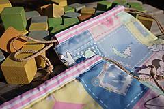 Úžitkový textil - ZĽAVA ! vrecúško pestrofarebné.. - 5764193_