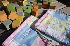Úžitkový textil - ZĽAVA ! vrecúško pestrofarebné.. - 5764195_