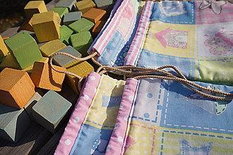Úžitkový textil - ZĽAVA ! vrecúško pestrofarebné.. - 5764168_