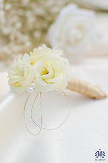 Pierka - svadobné pierko pre ženícha - 5765353_