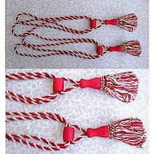 Úžitkový textil - Závesový strapec - 5766853_