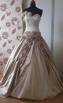 Šaty - Svadobné šaty - 5764817_