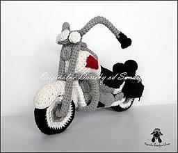 Návody a literatúra - motorka HARLEY ... návod - 5768735_