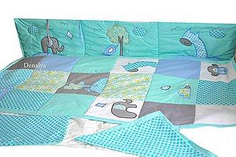 Úžitkový textil - Zástena-Mantinel na stenu z kolekcie Jumbo 50x200cm - 5769113_