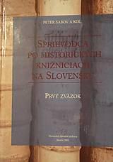 Kniha Sprievodca po historických knižniciach