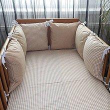 Textil - Vankúšiky hnedé - 5771149_