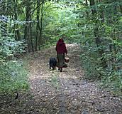 Iné oblečenie - Vlnené pončo, alebo ako Karkulka vo vlniaku vlka stretla - 5771498_