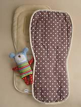 Textil - Podložka do kočíka BUGABOO Merino - 5772650_