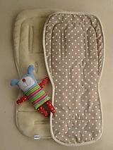 Textil - BUGABOO Merino Podložka do kočíka/ kočárků - 5772735_