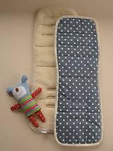 Textil - Univerzálna podložka do kočíka SUPER WASH MERINO - 5772850_