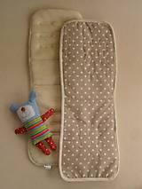 Textil - Univerzálna podložka do kočíka SUPER WASH MERINO - 5772867_
