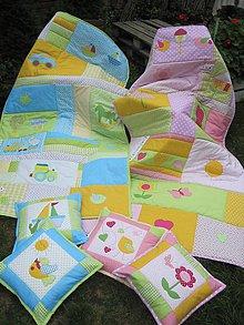 Úžitkový textil - detské deky - 5771475_