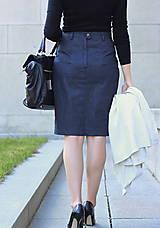 Sukne - Denimová sukňa - 5772983_