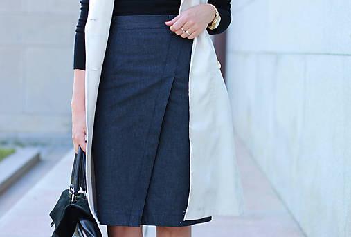 Denimová sukňa