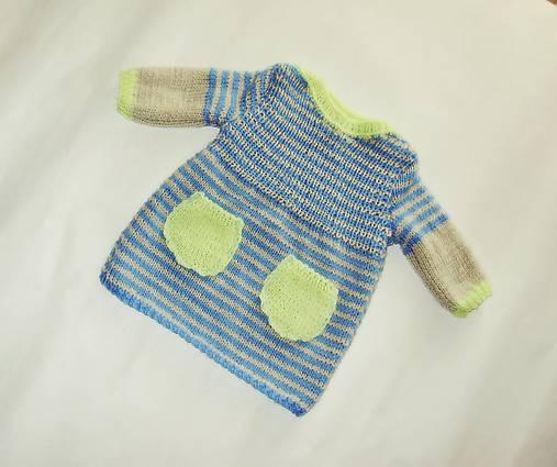 bc3c938d49ee Pletene detske šaty   JGinger - SAShE.sk - Handmade Detské oblečenie
