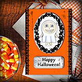 Papiernictvo - Halloweenske pohľadnica - 5769670_