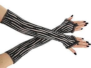 Rukavice - Dámské spoločenské rukavice opera 0025L - 5775521_