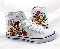 Obuv - motýľové číňany - 5774131_
