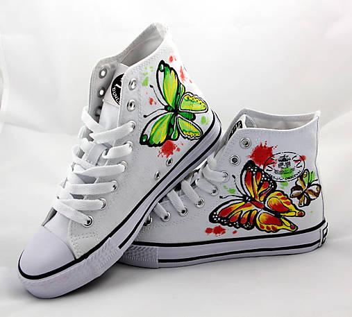 motýľové číňany
