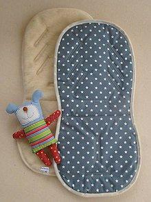 Textil - Merino podložka do auta a kočíka celoročná - 5773680_