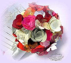 Papiernictvo - Rozkvitnutá elegancia... - 5773299_