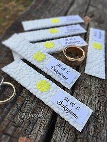 Darčeky pre svadobčanov - Svadobná žuvačka {ďakujem} - 5774381_