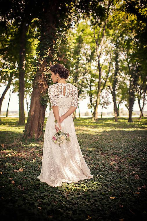 Wintage svadobné šatky sl.L   mara.zb - SAShE.sk - Handmade Šaty f454dcdcf22