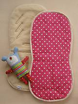 Textil - Merino Wool Liner for pushchairs and car seat - 5780299_