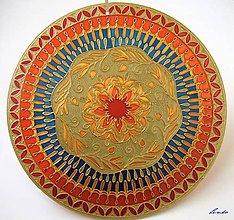 Dekorácie - Mandala Bytia - 5779892_