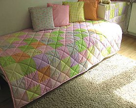 Úžitkový textil - pastelová všehochuť :-) - 5777937_