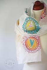 Šály - ornamenty a kruhy - 5779575_