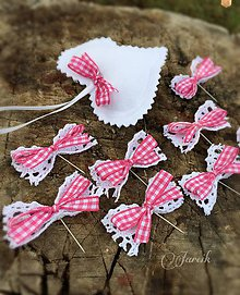 Pierka - Svadobné pierka {Pink-Natur} - 5778274_