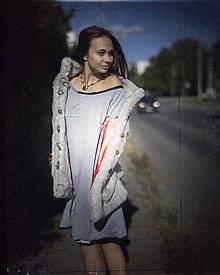 Iné oblečenie - Origo vesta chlapna kvety - 5777619_