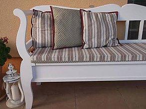 Úžitkový textil - Sedák a vankúšiky - šili sme na želanie - 5778183_