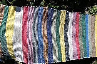 Úžitkový textil - Pekný pestrý koberec - 5780445_