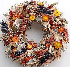 Dekorácie - jesenný - sklizeno - 5782830_
