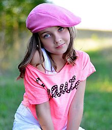Detské čiapky - Bekovka pre slečnu - 5781337_