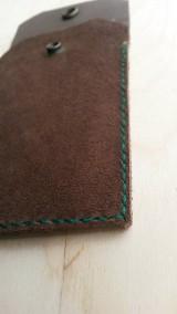 Taštičky - Kožené púzdro na stolárske škrabky - 5783655_