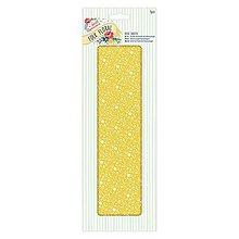Papier - Deco Mache Papier Folk Floral - Žlté kvety - 5781987_