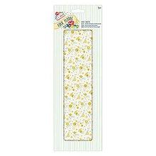 Papier - Deco Mache Papier Folk Floral - Žlté divoké kvety - 5782018_