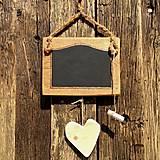 - Masívna drevená tabuľa na písanie - 5783037_