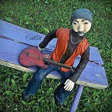 Socha - Hudba je môj život - socha podľa fotografie - 5782451_
